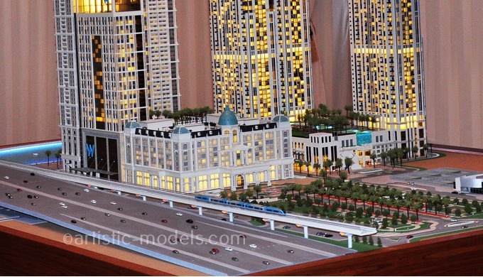 Architectural scale models are valued as the art of manifesting design and structural aspects of a b...