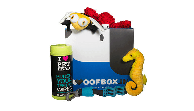 Puppy starter woofbox is a special box curated keeping in mind puppy's natural need for mother milk ...