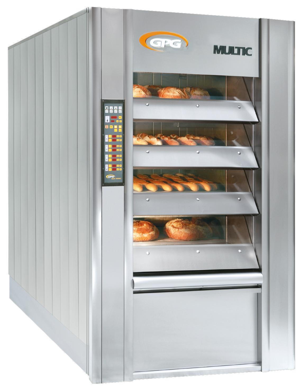 Hornos para panaderia de pisos MULTIC