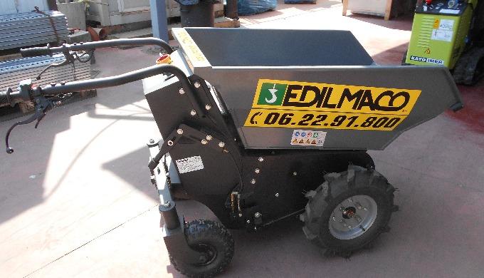 Noleggio e Vendita mini-dumper e carriole elettriche