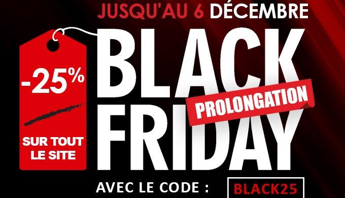 Le Black Friday joue les prolongations !