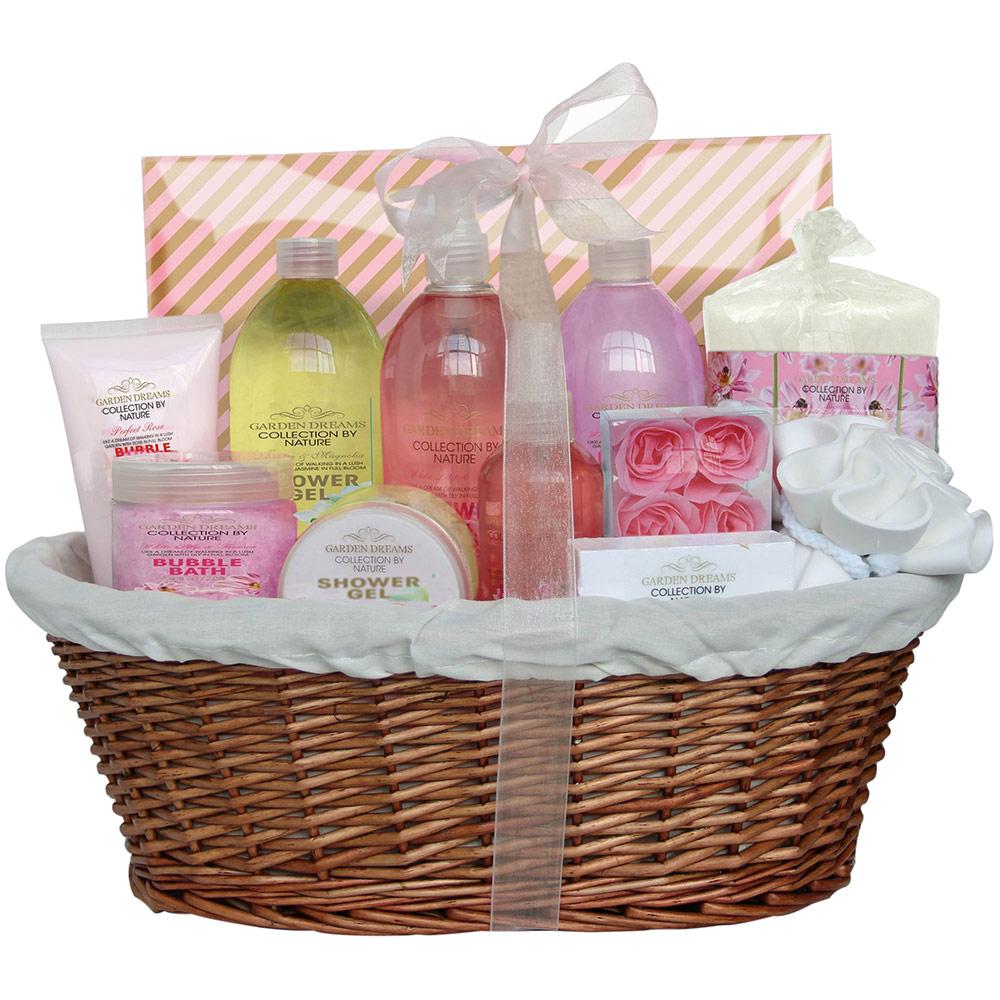 Coffret de Bain Premium - Garden Dreams - Jasmin & Magnolia, Lys & Freesia et Rose