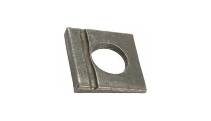 Rondelle Carre Cale-Oblique Din6917
