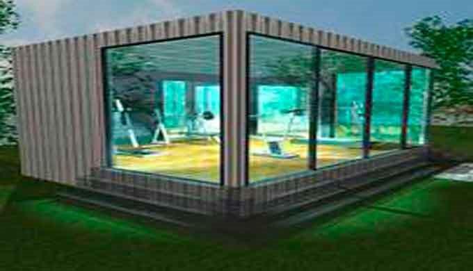 Construcciones Modulares Gimnasio