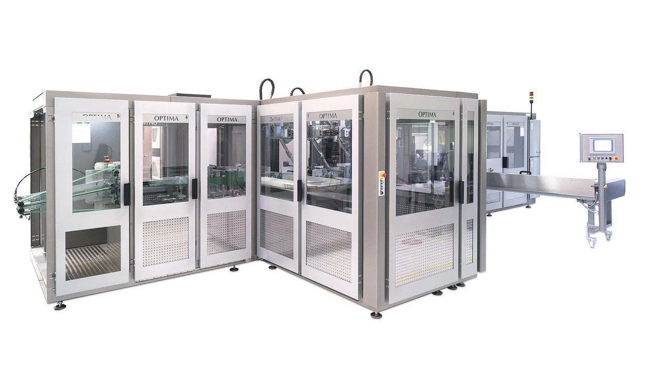 Die Beutel- und Verpackungsmaschine OPTIMA HS/OS7 vereint jahrzehntelange Erfahrung als technologisc...