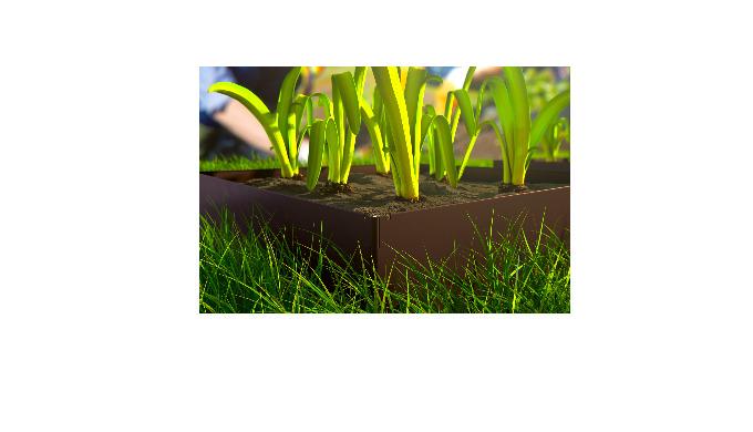 Bacs potager et jardinières Hornval O3. Fabriqués en acier revêtue, ils sont faciles à assembler et ...