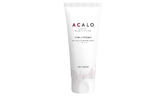 MOMOSOW ACALO Control Foam Cleanser_facial foam cleanser for acne skin