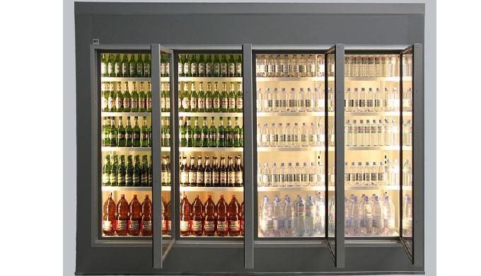 Cameră frigorifică vitrată gama | TCV