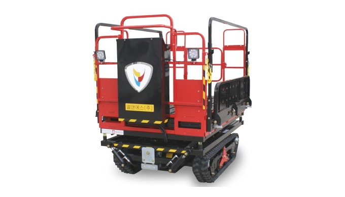 [LNS-H200] EV AERIAL WORK PLATFORM FOR ORCHARD AND FARM.