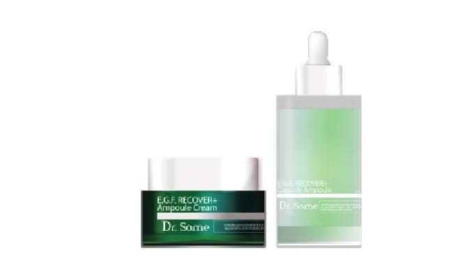 Ampoule cream and capsule ampoule for radiant and moisturized skin. Ампульный крем и капсульная ампу...