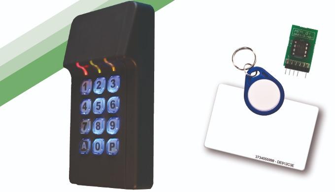 RX-MIFARE, RX-MIFARE-WDT: Teclado / Lector de proximidad con TAG y/o código para control de acceso