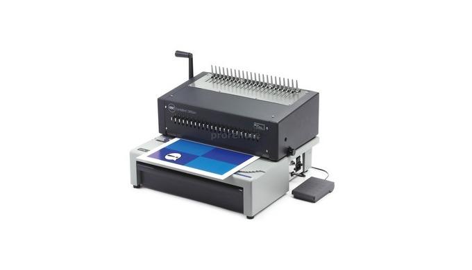 La relieuse GBC CombBind C800Pro est une perforelieuse professionnelle Idéale pour le gros volume de...