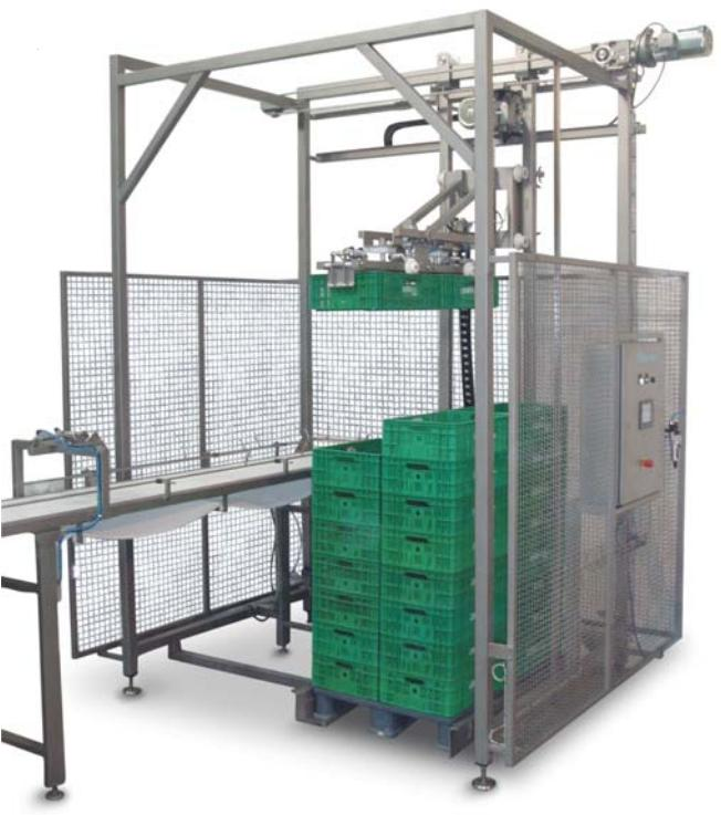 Case palletiser