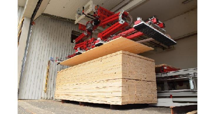 Vakuové manipulátory do dřevařských provozů