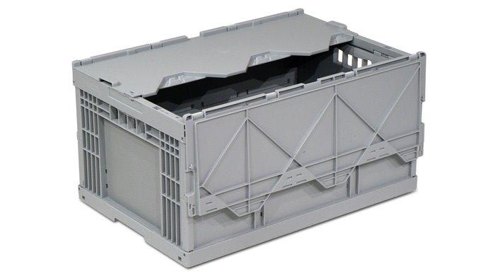 Bei der Belieferung von Filialen müssen oftmals leere Behälter wieder mitgenommen und eingelagert we...