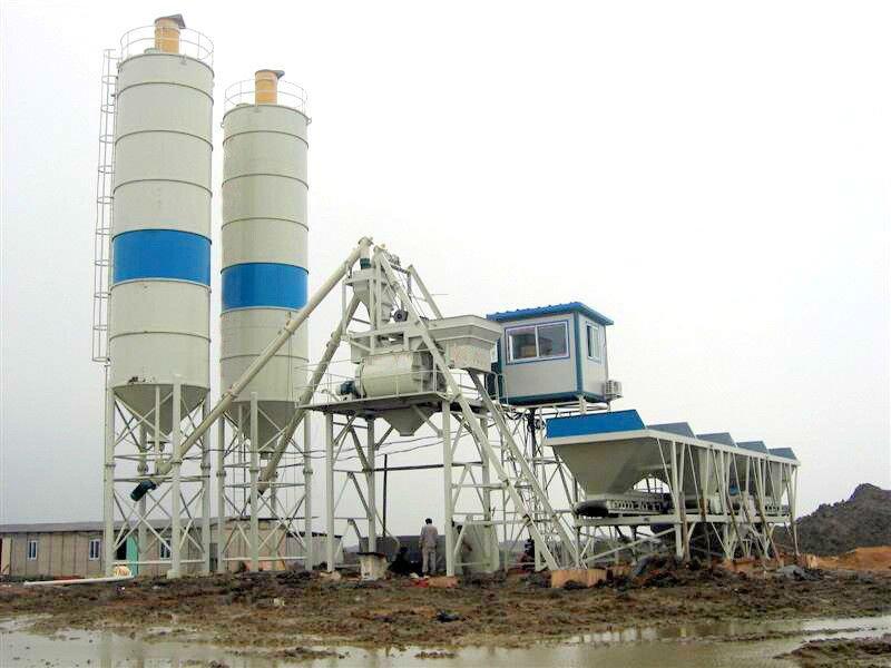 * Centrale à béton 35 (sans silo ) : Station 50 Machine principale JS750 4 Trémies de dosage 2 Trans...