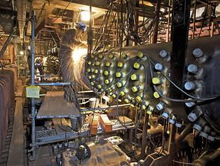 Power plant service