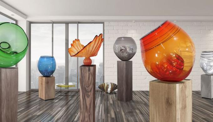 Wir bieten Ihnen außergewöhnliche handgefertigte Glasobjekte. Unsere Glaskunst - Glasvasen - Glassch...