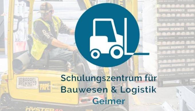 das Schulungszentrum für Bauwesen und Logistik Geimer führt regelmäßig alle 14 Tage Aus-Fort - Weite...