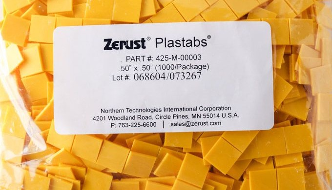 Zerust Tabs are perfect when used to supplement your current VCI corrosion inhibiting packaging solu...