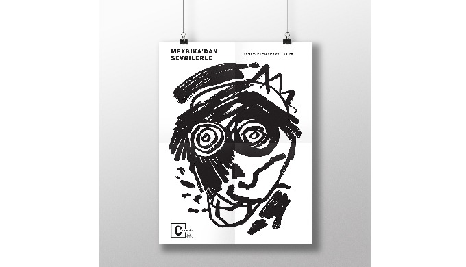 ART POSTER 1. Someones Face | fabric poster printing