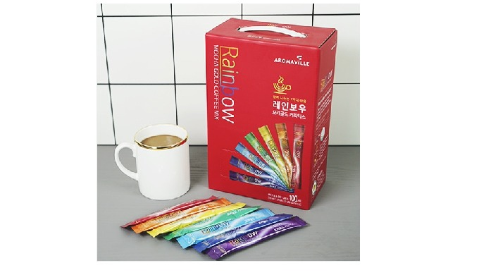Rainbow 3 in 1 100T - Coffee Mix