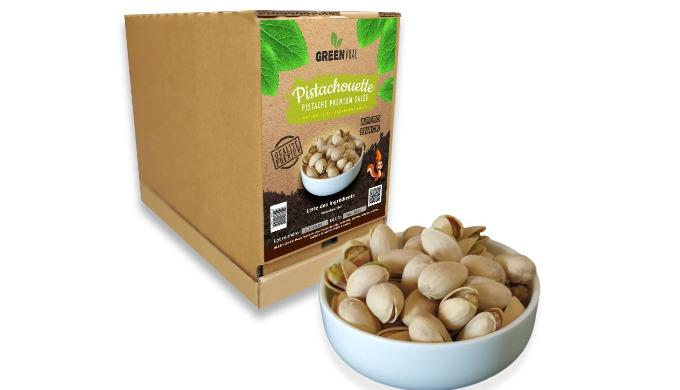 Pistachouette, ce sont des pistaches Premium cultivées en Iran, puis préparées et salées. PISTACHOUE...