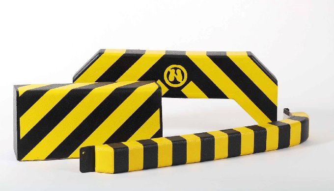 Safety bumpers are active collision cushions made of soft polyurethane foam with a special skin and ...