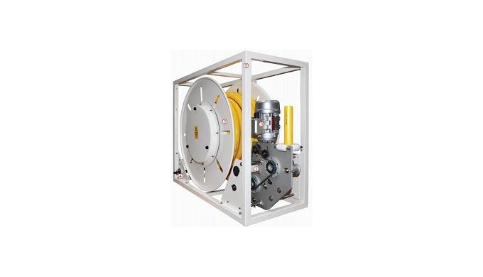 Questo compatto avvolgicavo motorizzato, data la sua modularità costruttiva, può essere facilmente p...