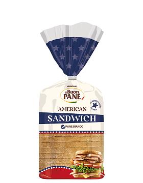 PANE BIANCO AMERICAN SANDWICH 550GR