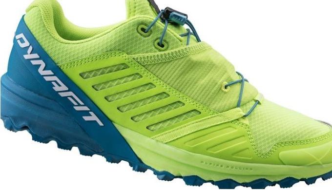 Dynamischer und reaktionsschneller Trail Running Schuh. Mit seiner VIBRAM-Außensohle und der dynamis...