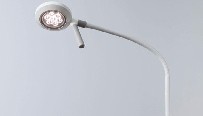 VISIANO 10-1 è un apparecchio per visita a LED ridotto all'essenziale, che però non rinuncia ad una ...