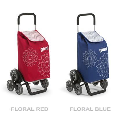 Nákupní taška na kolečkách usnadní vynášení nákupu do schodů. Pomocí systému tří koleček snadno vytá...
