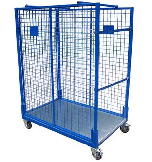 """Mobile Ladungsträger Ein Lagergestell, das """"lagert"""" und gleichzeitig Waren innerhalb Ihres Betriebs ..."""