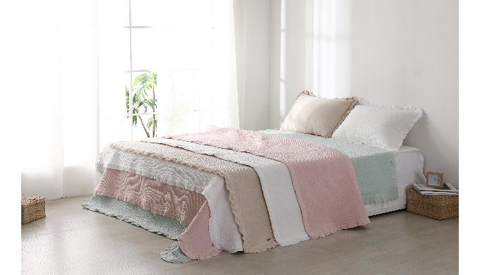 Cotton Pigment  Dyed Bedding Set