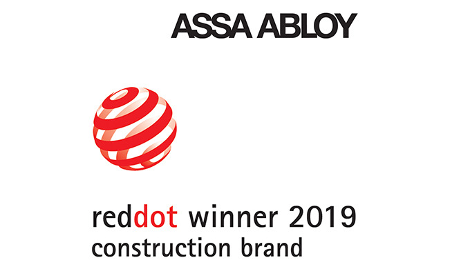 Construction Brand Award für ASSA ABLOY – Marke wird mit Red Dot Award ausgezeichnet