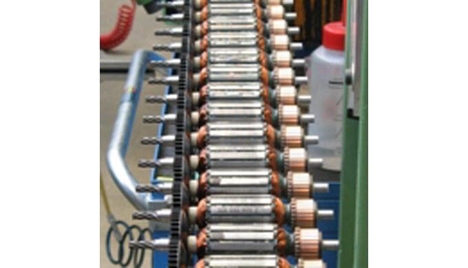 Unsere hochwertigen Elektromotoren finden Anwendung in der Automobilindustrie sowie in hochwertigen ...