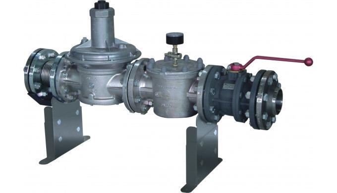 - Für die zuverlässige Brennstoffversorgung mit Gas - Für schnelle Montage einbaufertig vormontiert ...