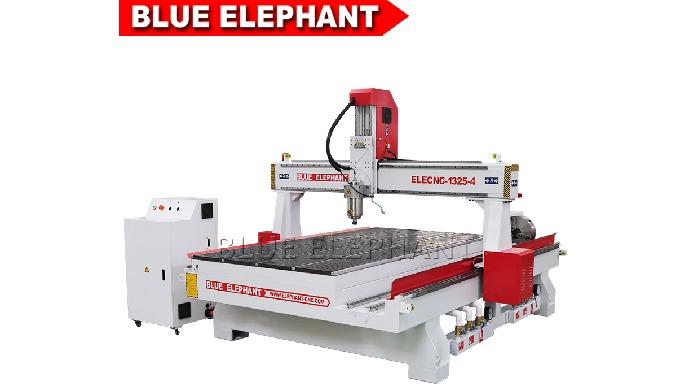 Синий слон домашний Цзинань 1325 4 оси с ЧПУ маршрутизатор машина для деревянный высекать
