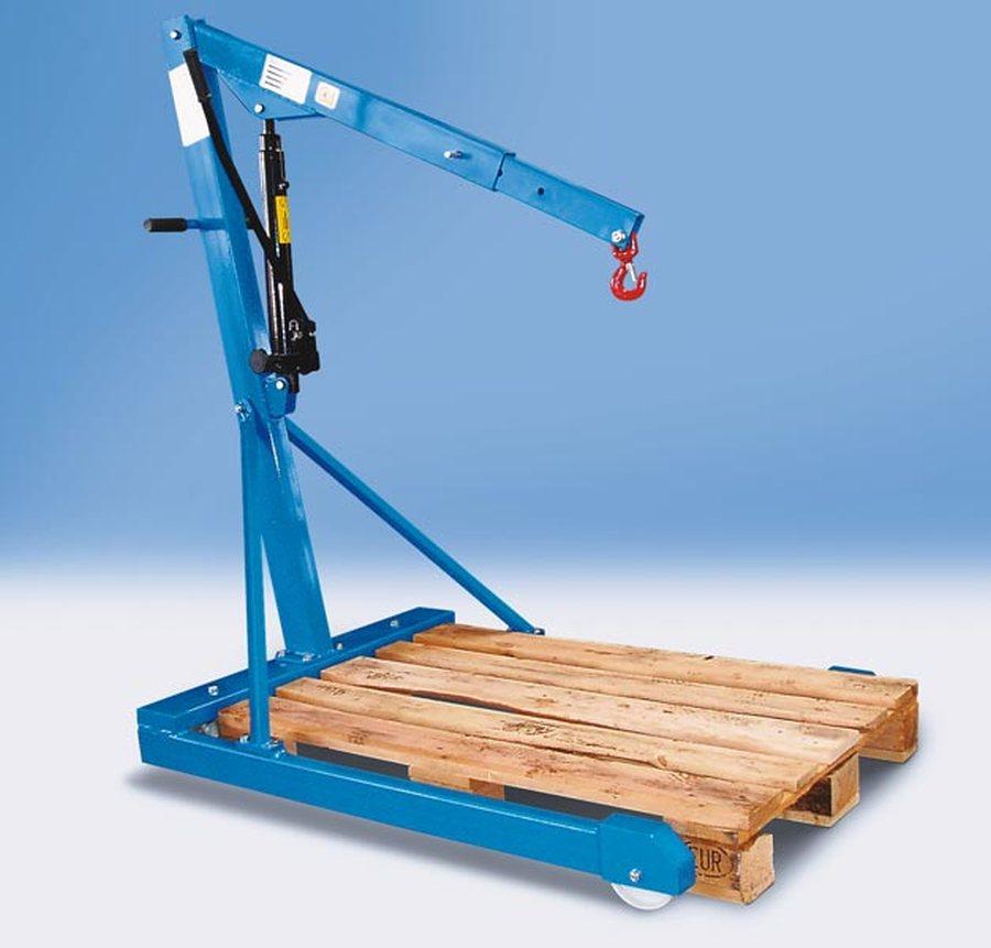 Tragfähigkeit 500 kg, Fahrgestell parallelMit doppelt wirkender Hydraulik-Pumpe (Pumphebel in beiden...