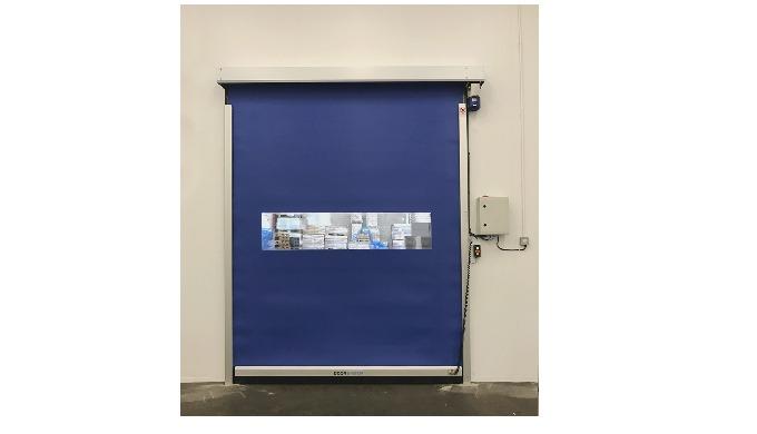 NEW! DS260 ROLLER DOOR DOES NOT TAKE UP MUCH SPACE PRICE COMPETITIVE ALU-DOOR Door System has develo...