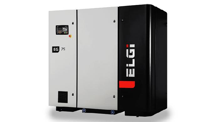 WHY ELGi's EG SERIES SCREW COMPRESSOR? Best-in-class energy efficiency Our EG series has high effici...