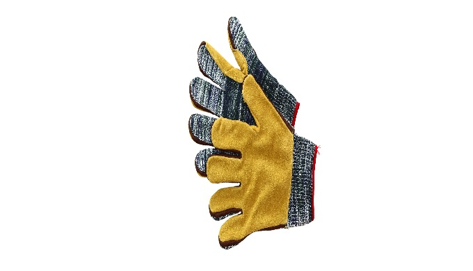 Protective gloves for the plastics industry