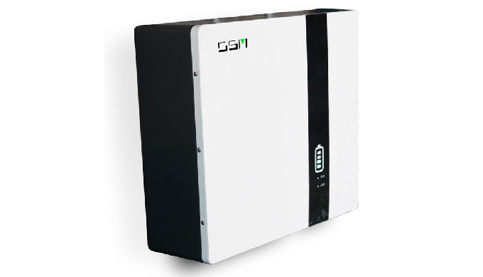 The OSM wall-mounted Home battery is an intelligent 10kWh (9.6kWh usable) residential energy storage...