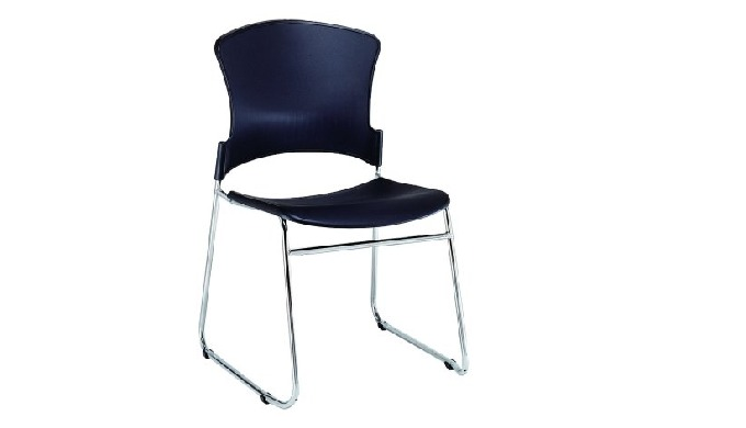 EVA-05C is EVA series sled-base stacking guest chair, a perfect blend of gorgeous industrial design ...