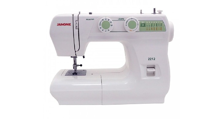 Key features of Janome 2212 Sewing Machine: 12 built in stitches Type of buttonhole: 4-step. Pattern...