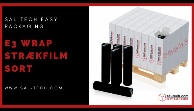 E3 Wrap Stretch Film Black/White