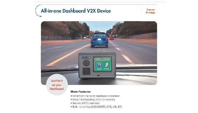 All-in-one Dashboard V2X Device