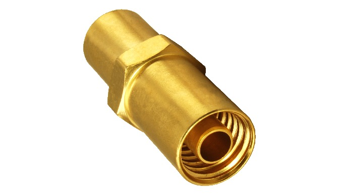Brass CO2 Hose Fitting