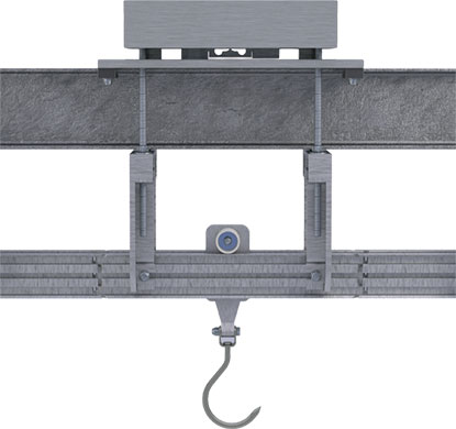 SINGLE LOAD CELL AERIAL SCALES AG1 SERIES